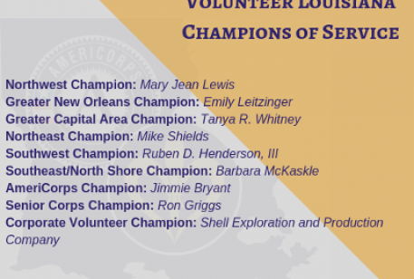 2019 Champions of Service
