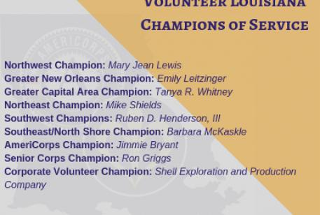2019 Champions of Service